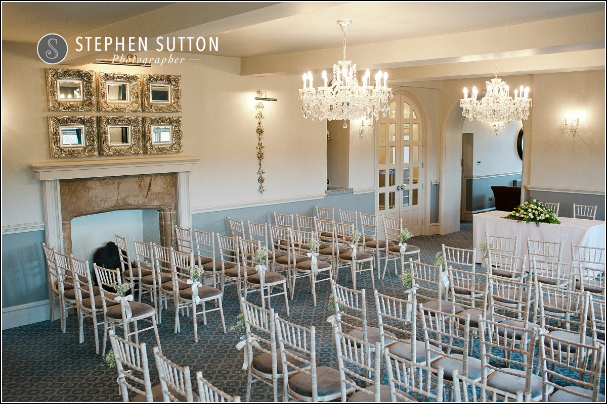 Weston Hall civil wedding