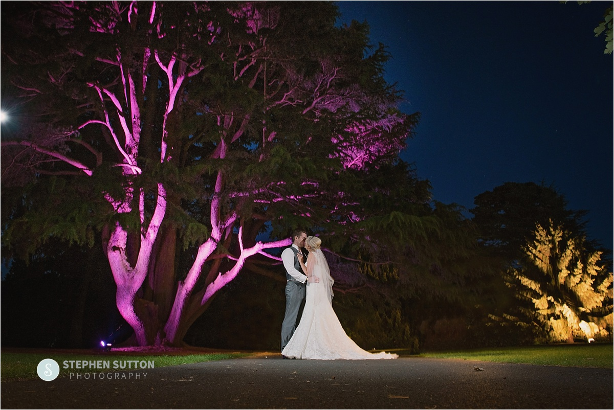 Night time photographs at rodbaston hall