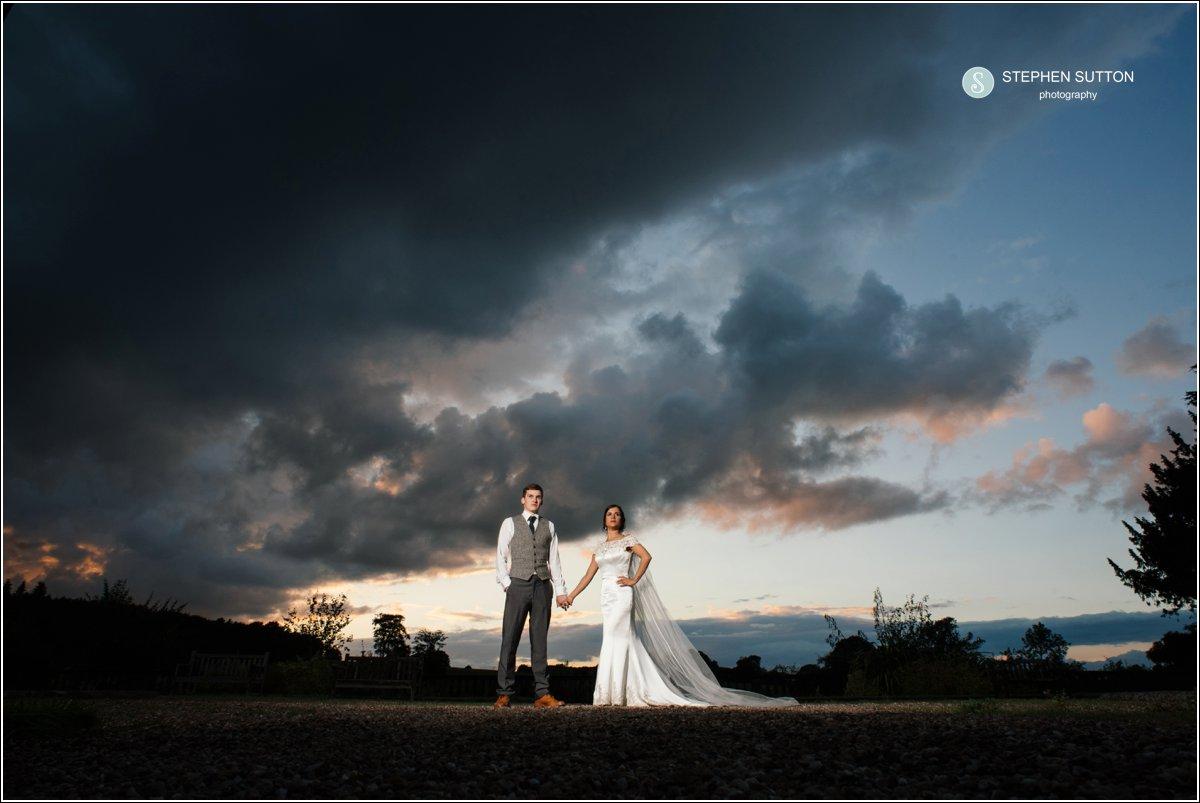 Ingestre Hall Weddings Bride & Groom