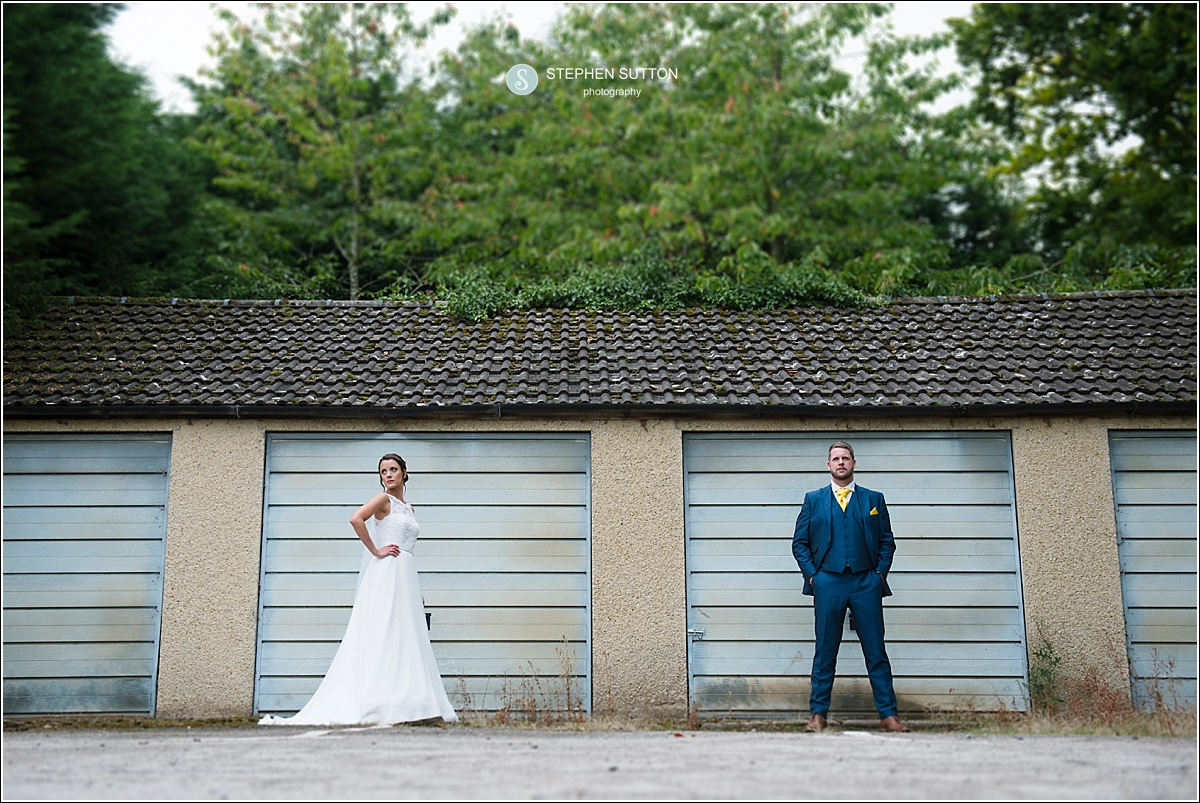 Bride & Groom Quirky photo at Pendrell Hall