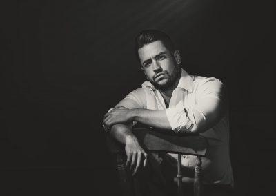 Male-Model_Black&White-Studio-Portrait